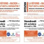 Débat à Loches (37). Réforme Macron : tout doit-il disparaître ? @ Le P'tit Marmiton