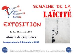 Semaine de la Laïcité dans le Gard (30) @ Mairie de gagnières