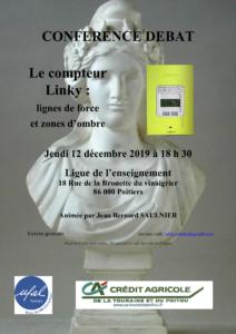 Débattre sur Linky (Poitiers) @ Ligue de l'enseignement