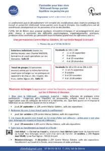 Permanence (individuelle) : s'entraider pour bien vivre - télétravail - temps partiel- équilibre vie perso/vie pro à Arcueil (94) @ Centre Marius Sidobre
