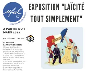 """L'Ufal de Moselle expose la """"laïcité tout simplement"""" à Metz @ Bar Les Paillettes"""